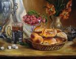 Картины на тему «Натюрморт с пирогами»