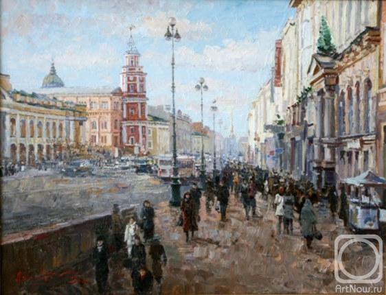 Ляхович Сергей. 034. Невский проспект.