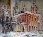 Чарина Анна. Зимний плющ. Петропавловский переулок