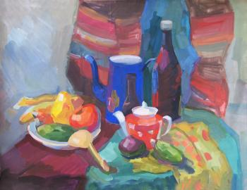 Zhukova Juliya. Still-life in Russian style