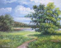 Задушевные пейзажи Владимира Иванова