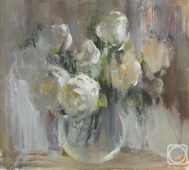 Швецова Анастасия. Белые розы