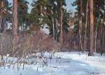 Rubinsky Pavel. Wood in the winter