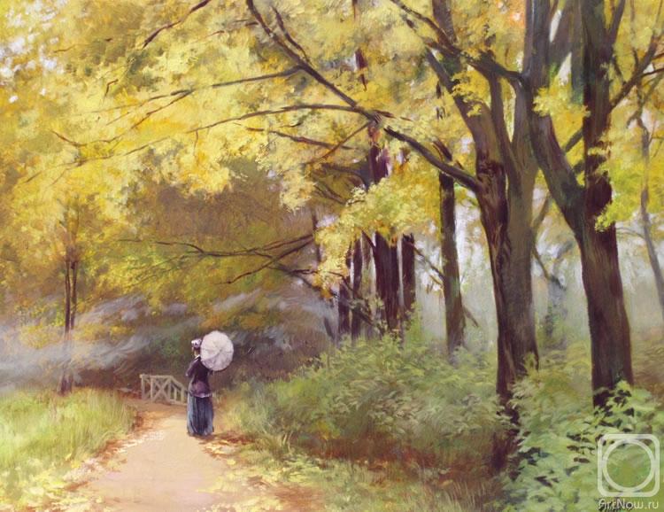 Стих мы в парке осенью
