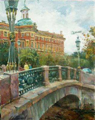 "Galimov Azat. Mihaylovskiy lock. Beside footbridge ""Engineering"""