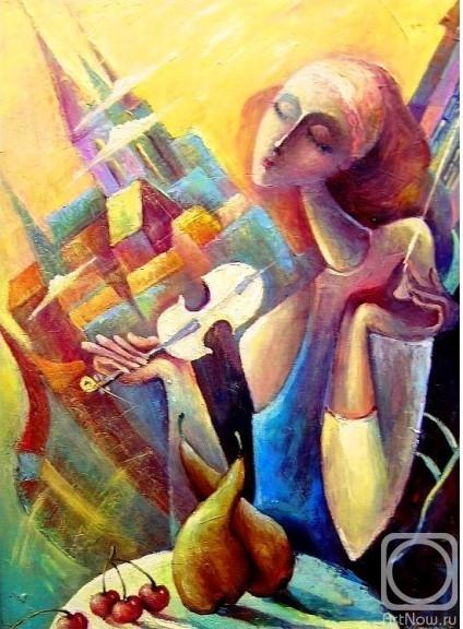 Моисеева Лиана. Скрипка