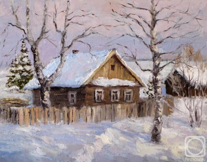 Серебренникова Лариса. Зима в деревне.