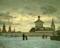 Масляная живопись Михаила Гайдерова