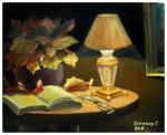 Натюрморт с лампой