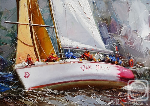 "Gappasov Ramil. From ""Regatta"" series"