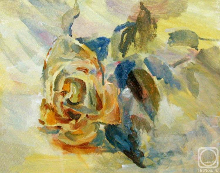 尤里·羅曼諾夫。玫瑰