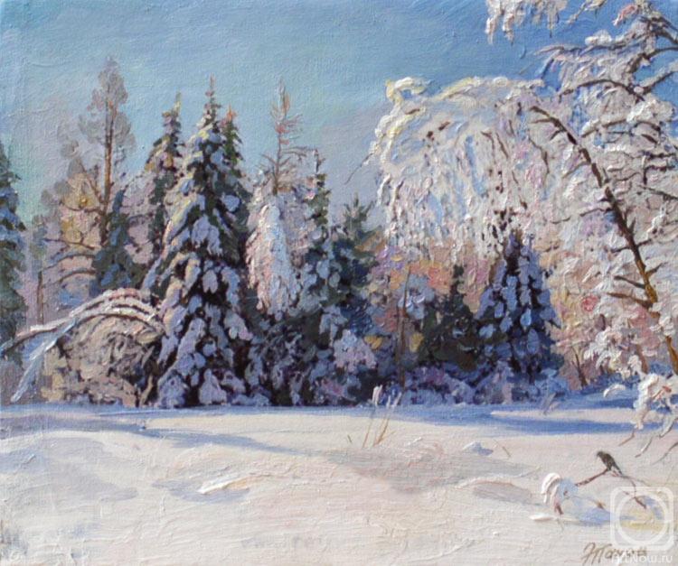 Панов Эдуард. Зима в лесу