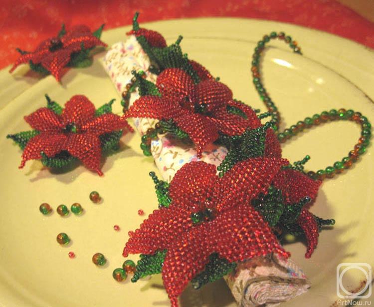 Цветы рождественская звезда своими руками