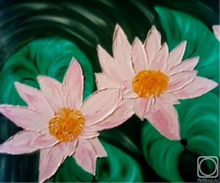 Шавалеева Светлана. В ладонях вод расцвел цветок Невиданной красы. (Аксана)
