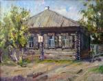 Дом крестьянина Зырянова в Шушенском, где жил В.И. Ленин. Федоренков Юрий