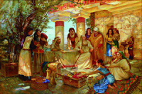 Жанровые полотна Иветты Поздниковой