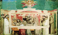 Роспись стен, выполненную великим художником эпохи Возрождения Джотто ди Бондоне, облучили ультрафиолетом