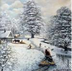 WINTER In VILLAGE