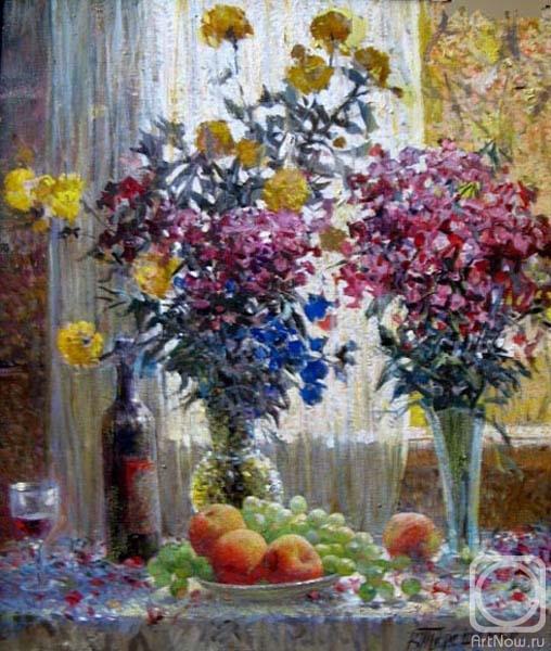 Картины художника цветы и фрукты