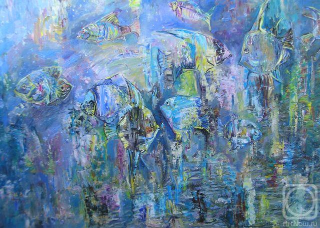 Инна картины художника рыбы