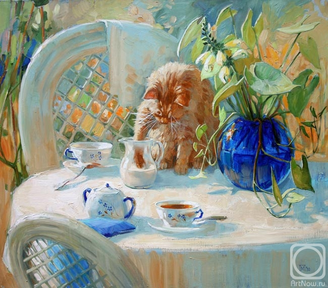 Павлова Мария. Чай с молоком