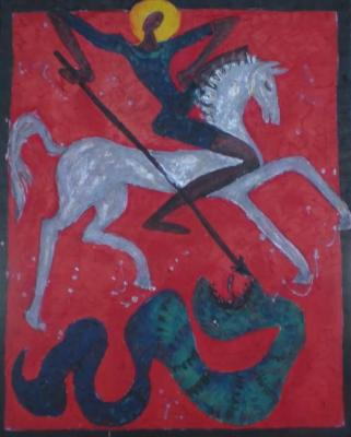 Volchek Lika. Saint George the Victorious