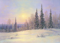 Русский пейзаж Сергея Анатольевича Панина