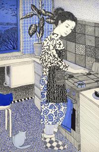 Графика Екатерины Гончаровой