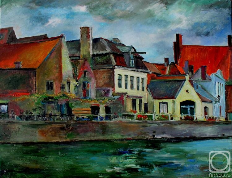 Pitaev Valery. In Brugge cloudy