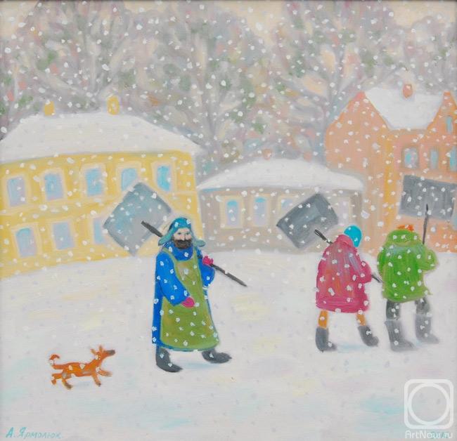 Ярмолюк Анна. Снег