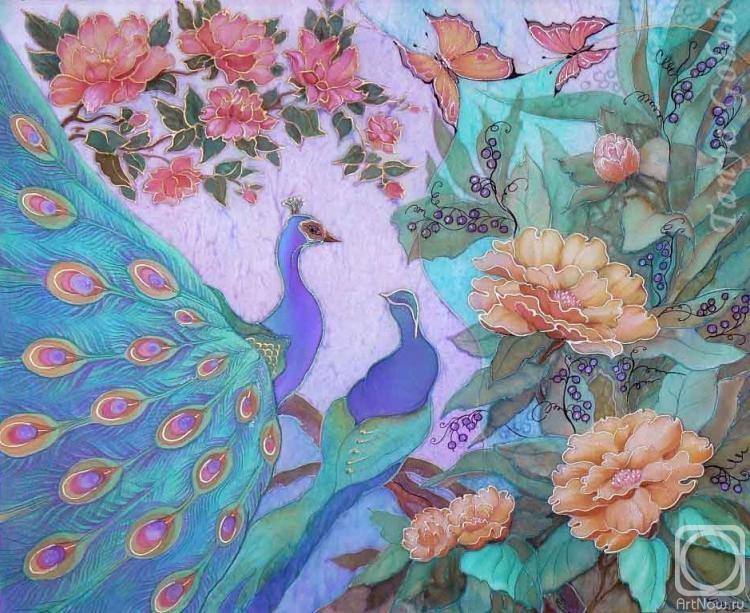 Голубь Татьяна. Сказка павлинов