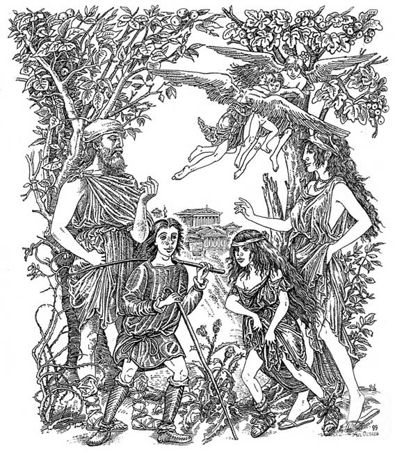 a contrast between society and nature in a midsummer nights dream a play by william shakespeare