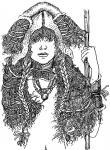 Портрет молодой амазонки