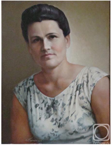 Тополь виктор портрет женщины