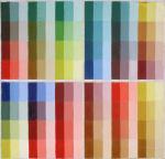 Таблица красочных смесей масляных красок отечественного производства (I)