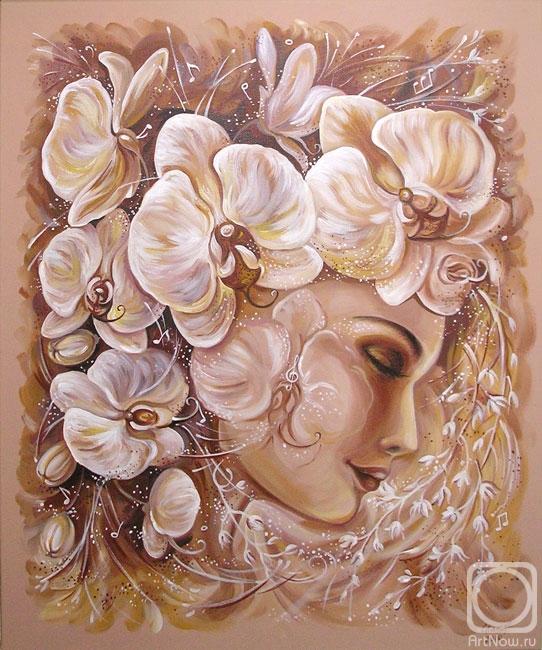 Каширская Снежана. Музыка белых орхидей