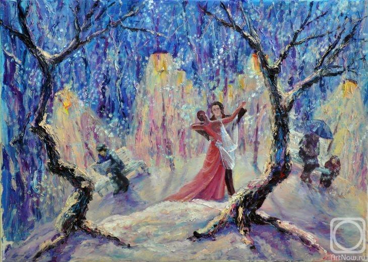 Кузнецова Надежда. Снежный вальс