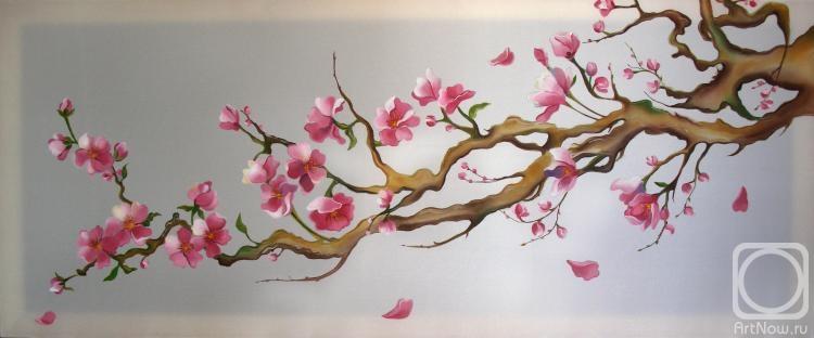 Логинова Аннет. Сакура в цвету