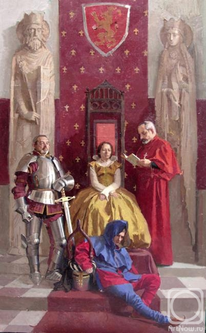 средневековые картины:
