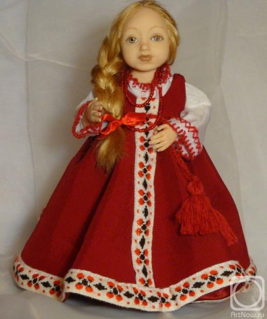 Кукла в русском костюме своими руками 77