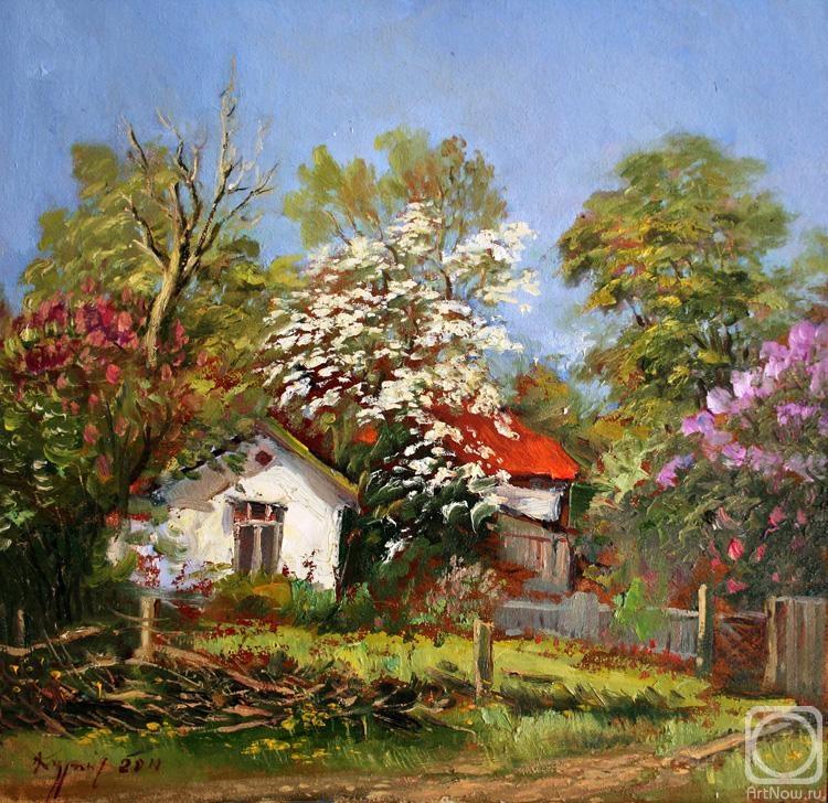 Весенний пейзаж по ул крузе