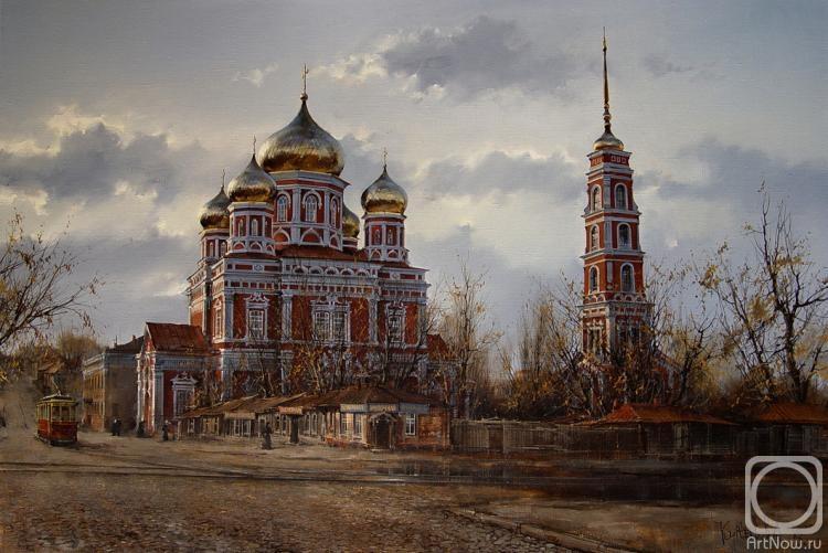 Курсеев Вячеслав. Собор покрова пресвятыя богородицы в Саратовъ