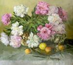 The peonies