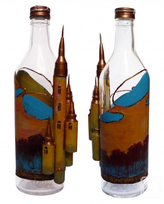 Как сделать бутылку с замком