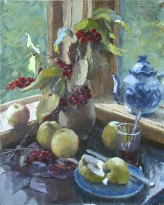 Rubinsky Pavel. Still-life with kalina