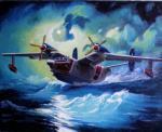 Бе-12 Взлёт в шторм