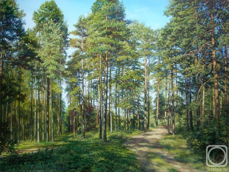 в сосновом лесу рисунок другой интерпретации это