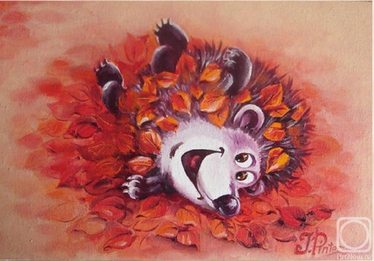 Талантливая, разносторонняя художница Пинтер Юлия. Наслаждение творчеством