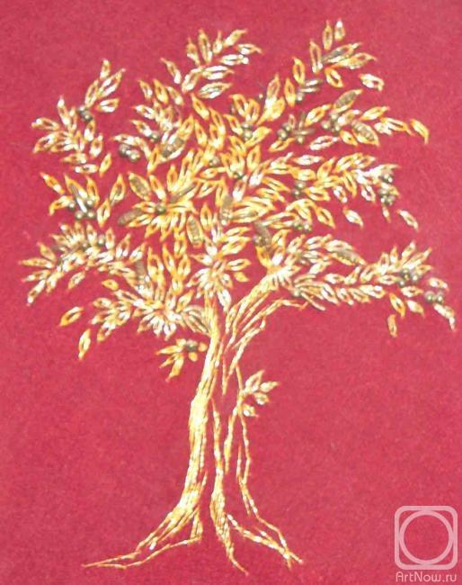 Лилия. золотое дерево