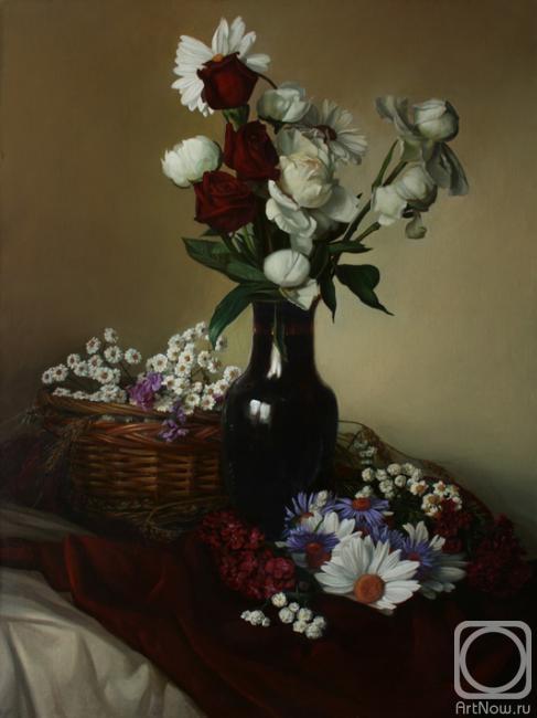 Миронов Андрей. Цветочный натюрморт